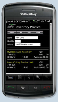 JOMAR Softcorp - Services - Purchasing, Inventory Control